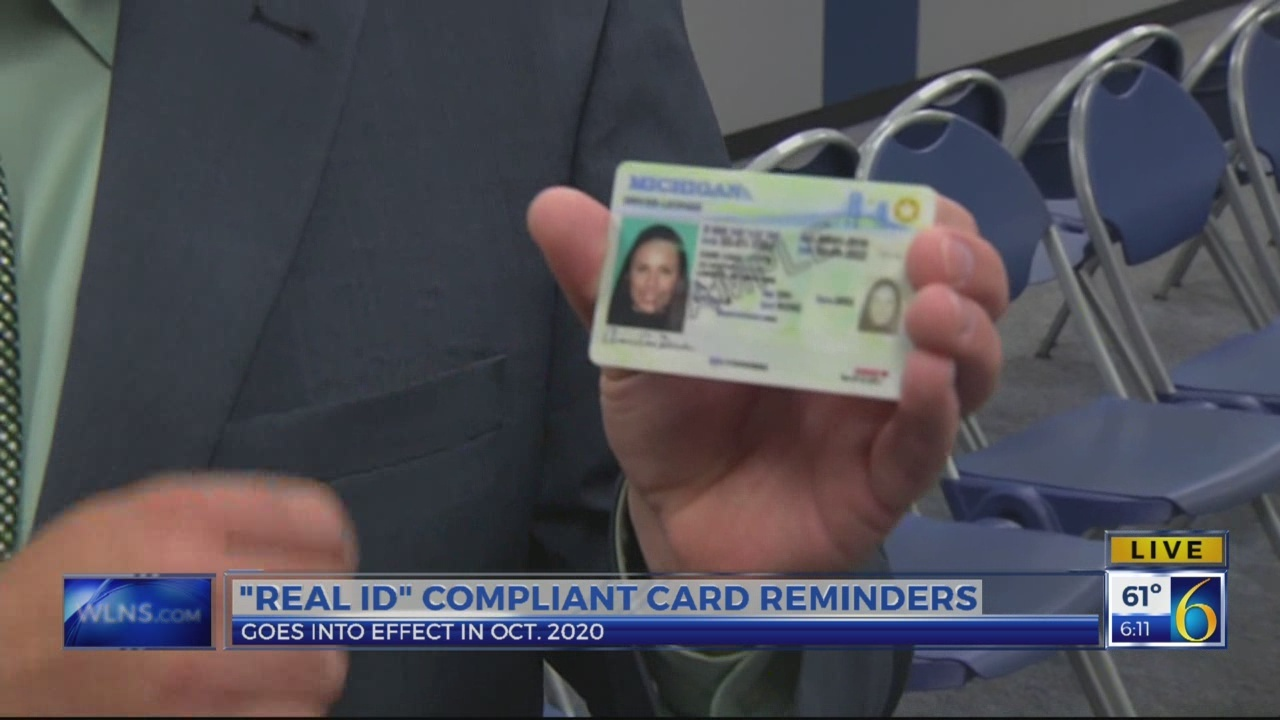 6 News This Morning: real ID compliant cards