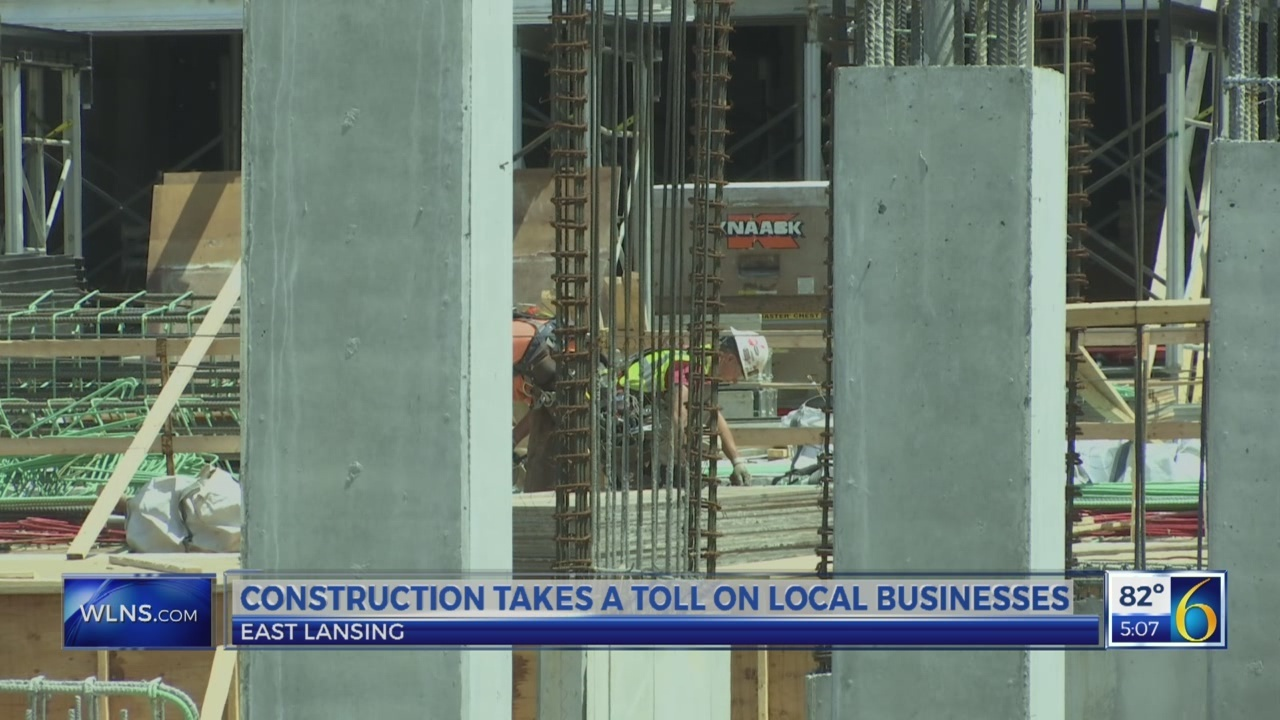 Construction take a toll on local businesses in East Lansing