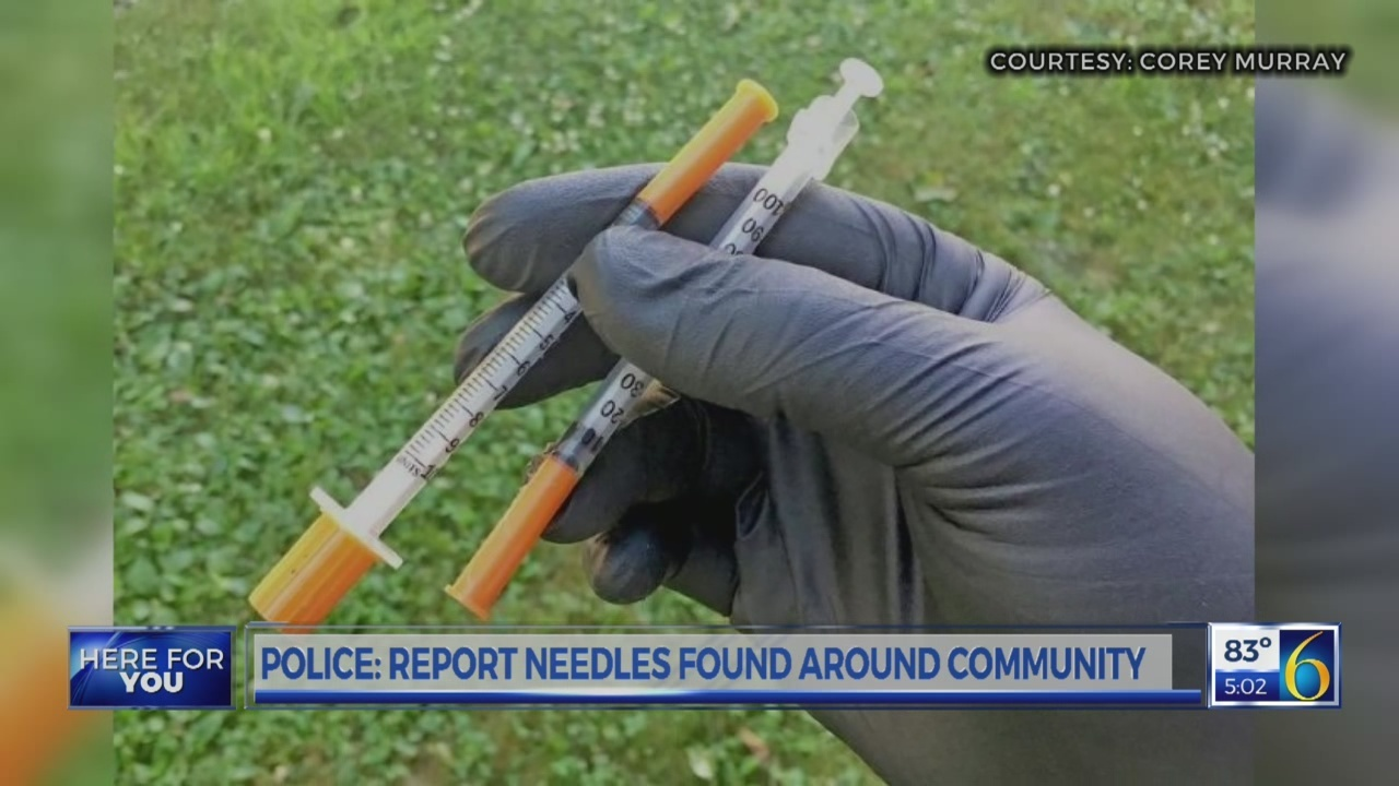 Drug Needle Problem in Hillsdale