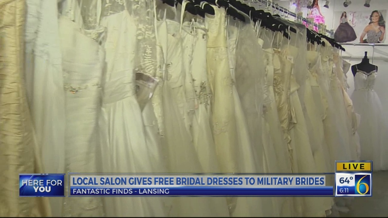 This Morning: Free wedding dresses for military brides
