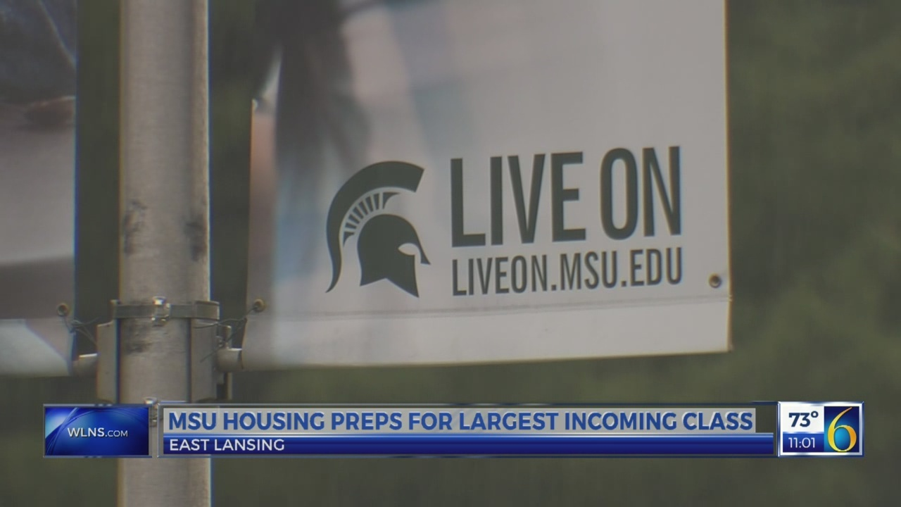 MSU housing preps for largest incoming class