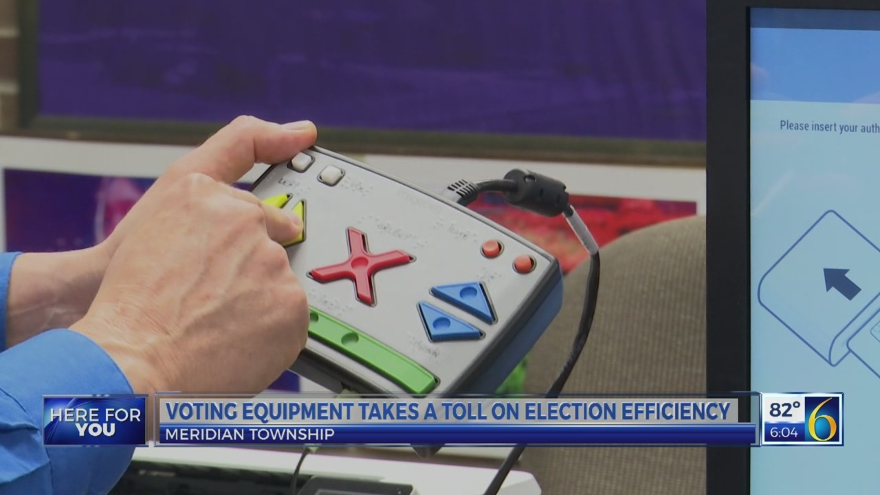 Voting equipment takes a toll on election efficiency