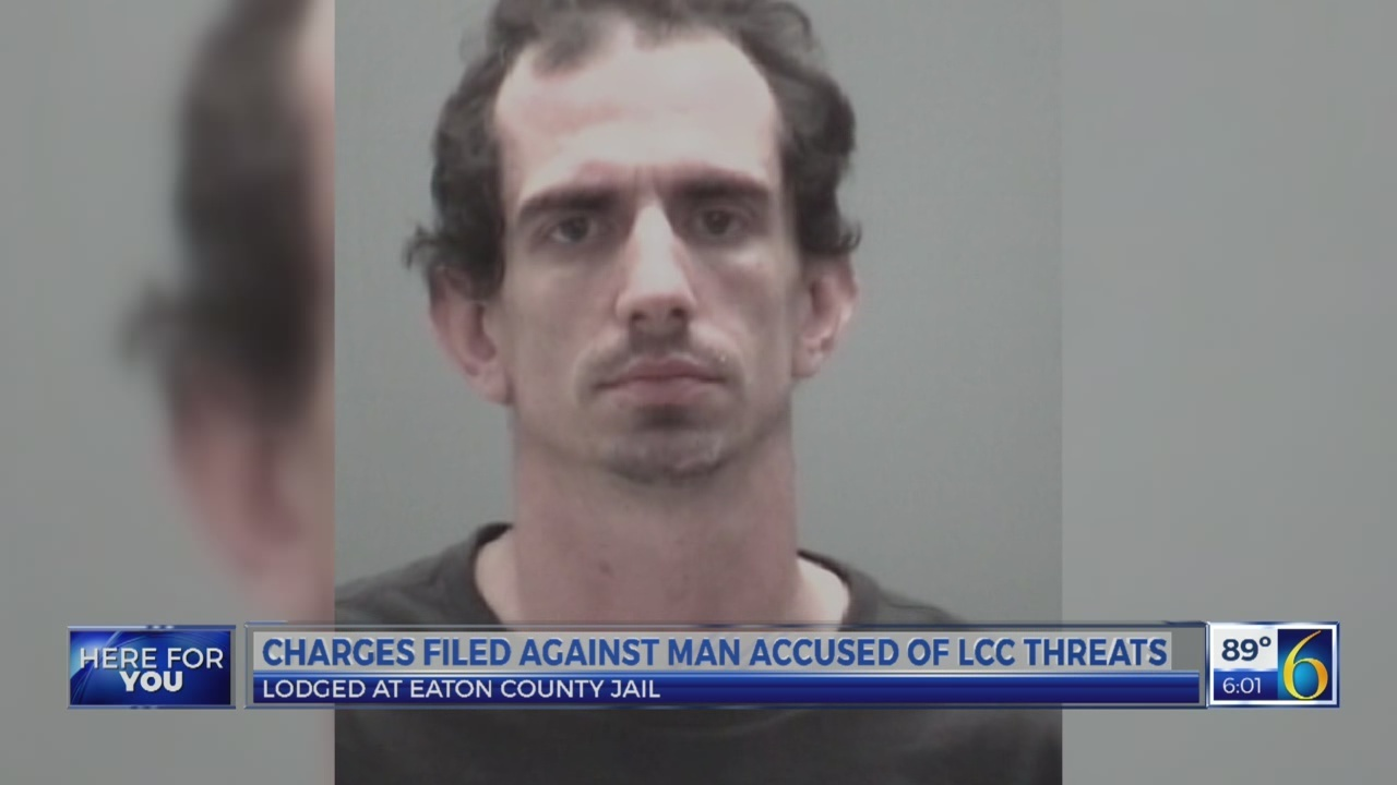 Charges filed against man accused of L.C.C. threats