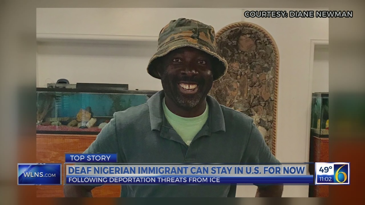 Deaf Nigerian immigrant can stay in U.S. for now