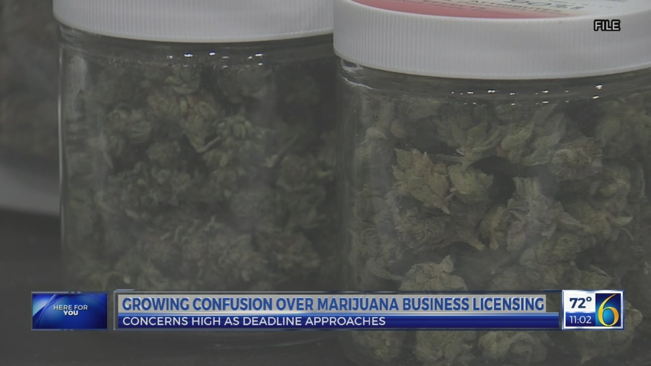 Growing confusion over marijuana business licensing