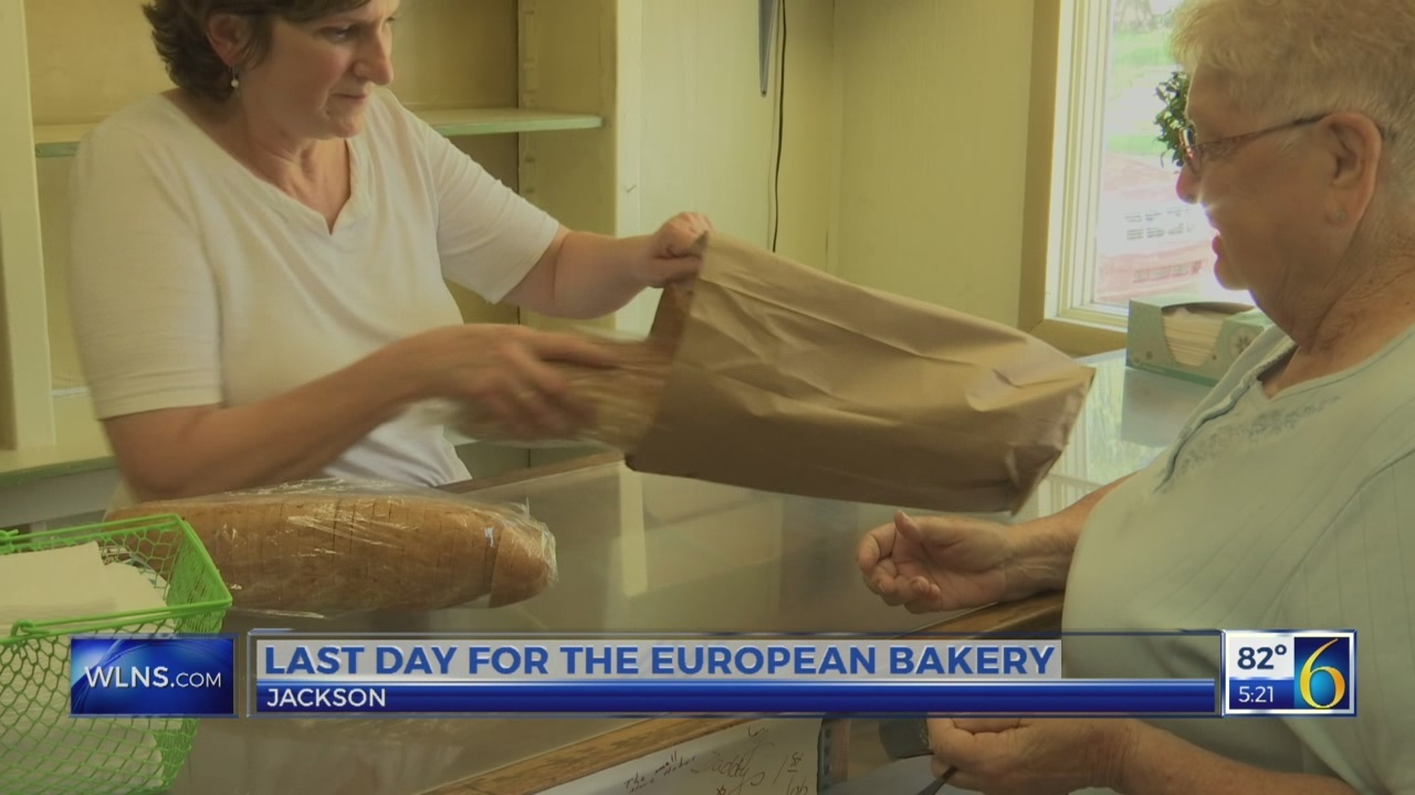 Jackson bakery closes after 105 years