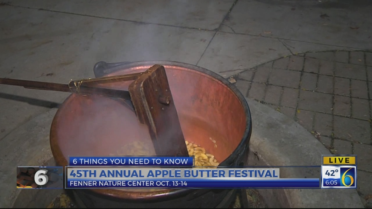 6 News This Morning: apple butter festival
