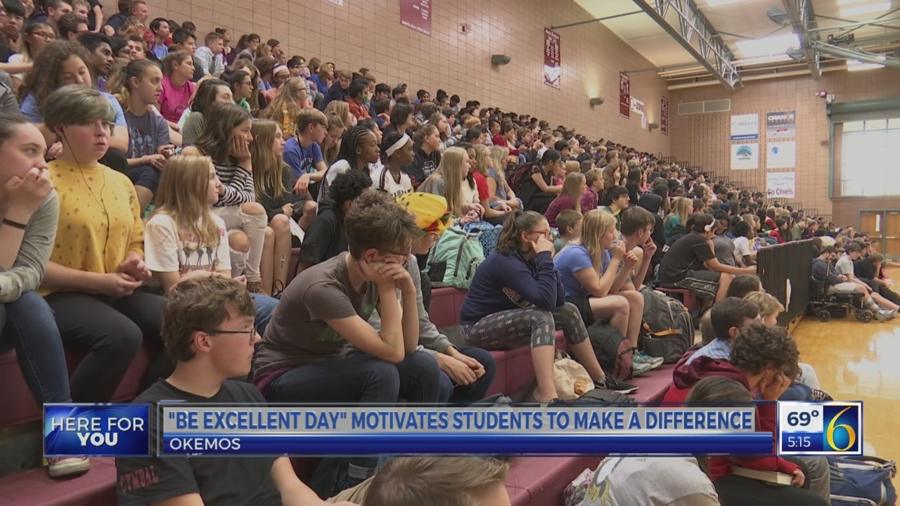"""Be excellent day"" motivates students to make a difference"