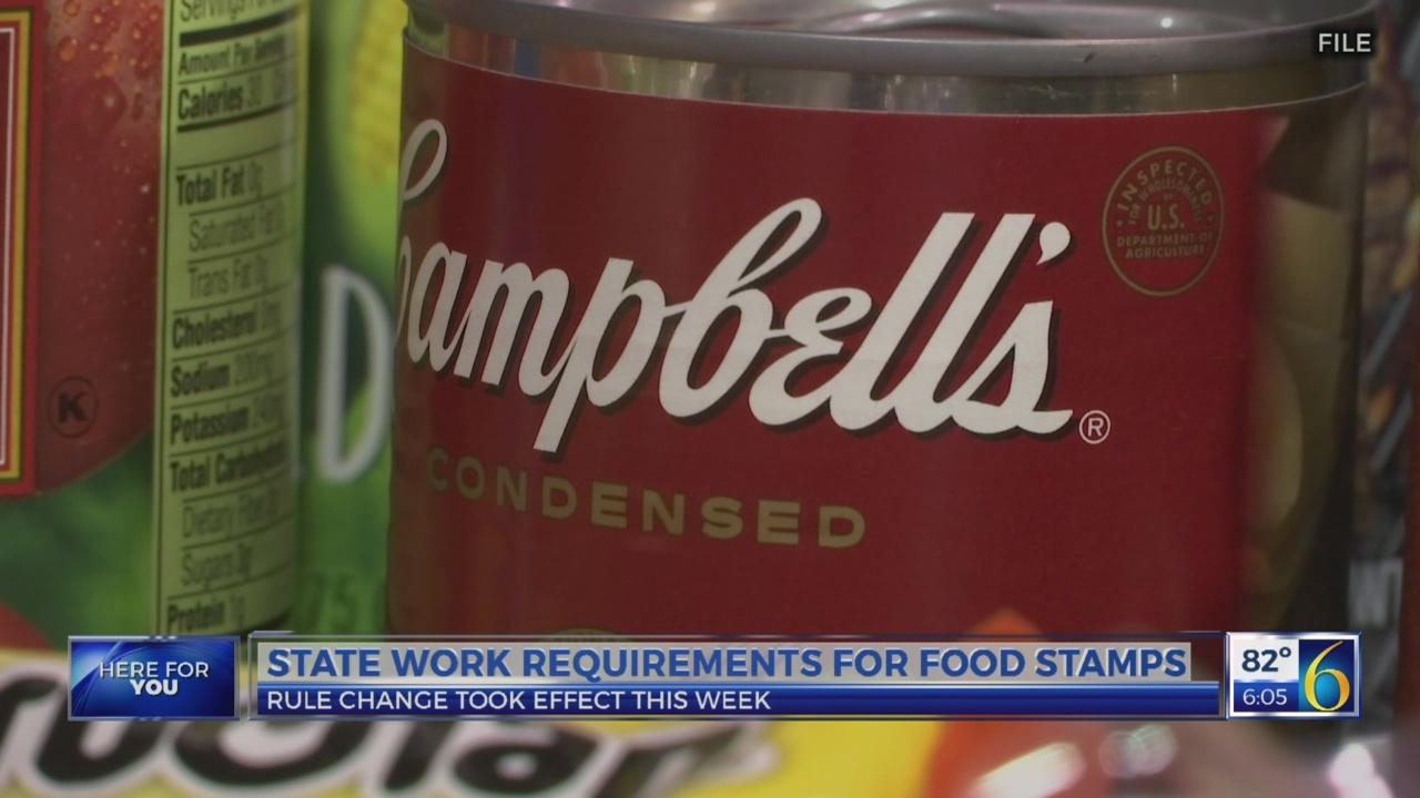 Federal Rule Change for a group of people who receive food stamps