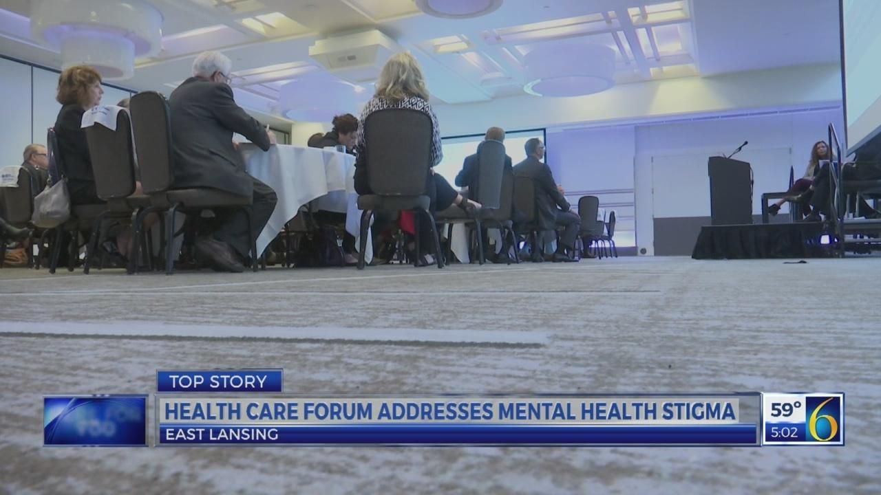 Health care forum addresses mental health stigma