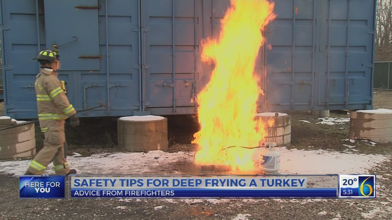 6 News This Morning: turkey fryer tips