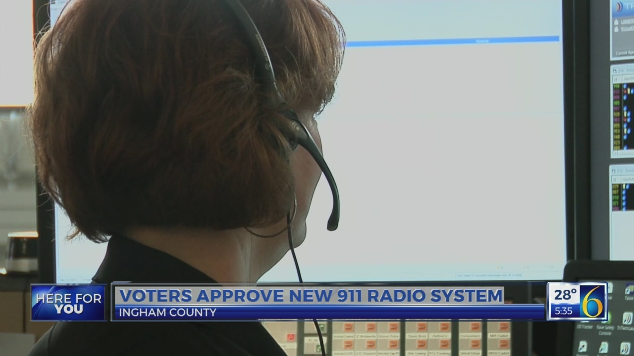 6 News at 5:30: 911 radio system