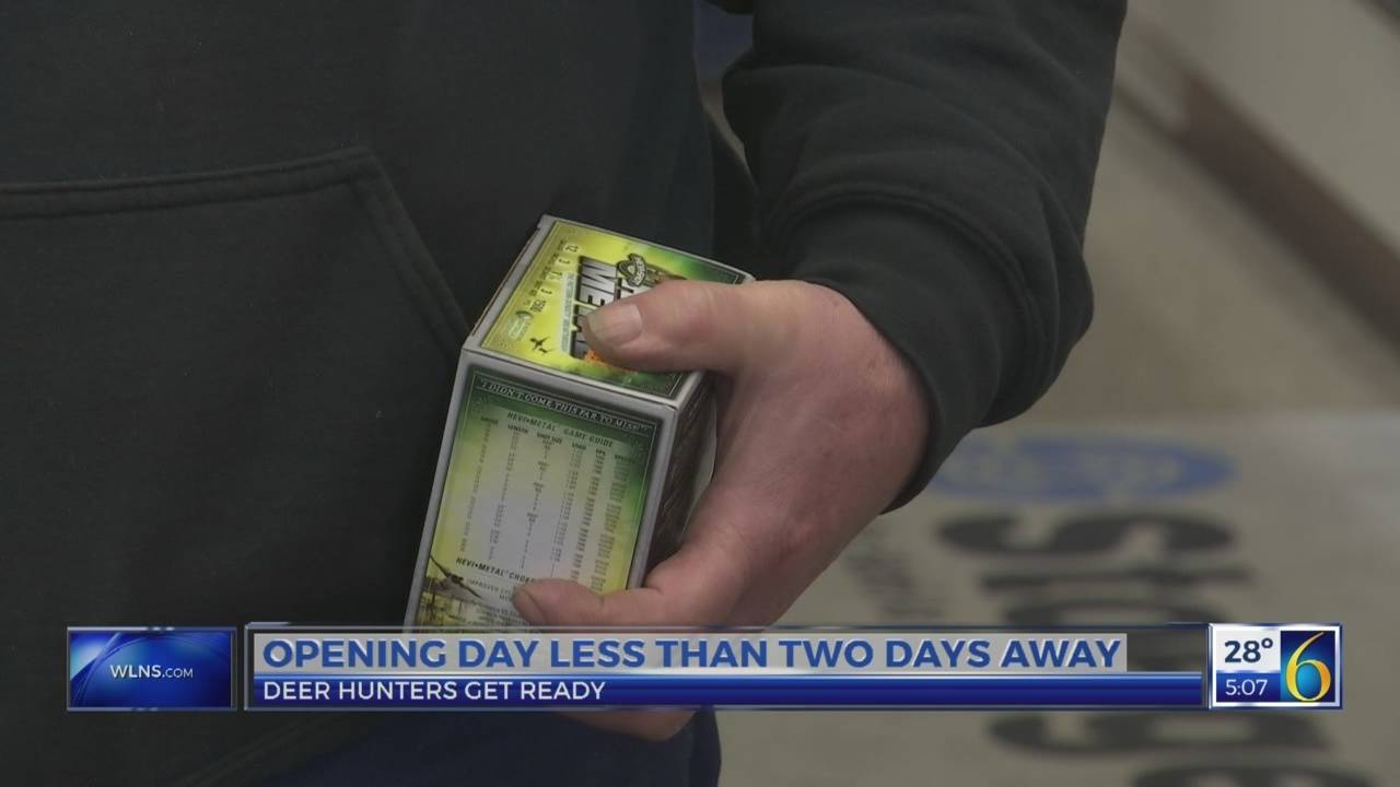 Hunters get ready for opening day