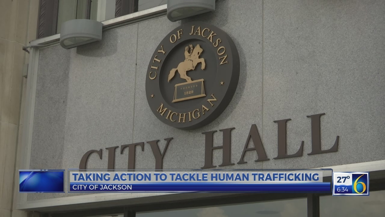 6 News at 5:30: human trafficking posters
