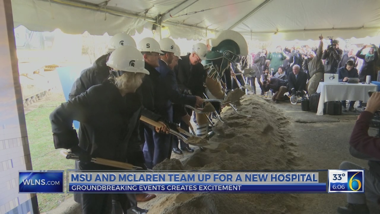 New hospital breaks ground on MSU campus