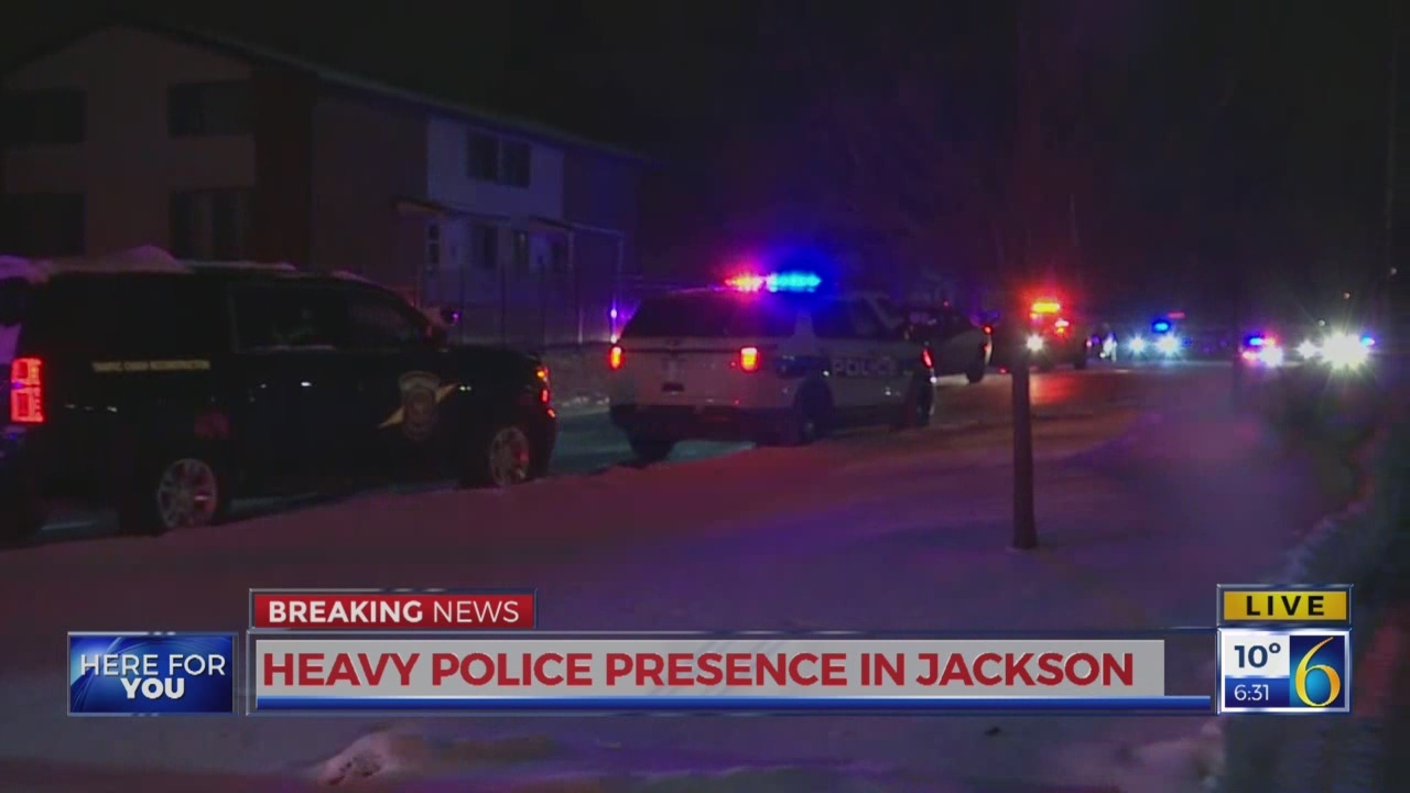 6 News This Morning: jackson heavy police presence