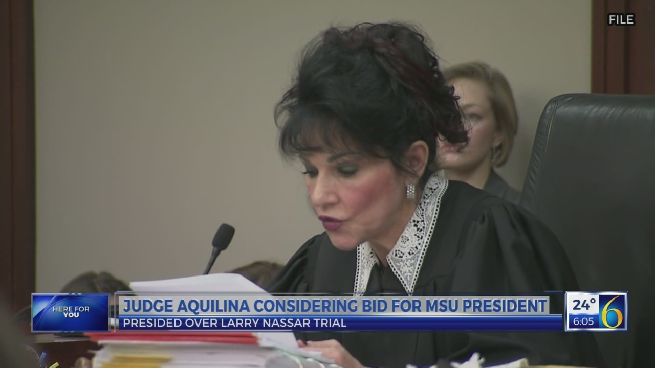 Aquilina considering bid for MSU president
