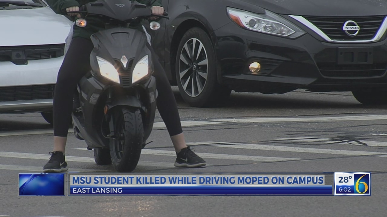 MSU student killed on moped