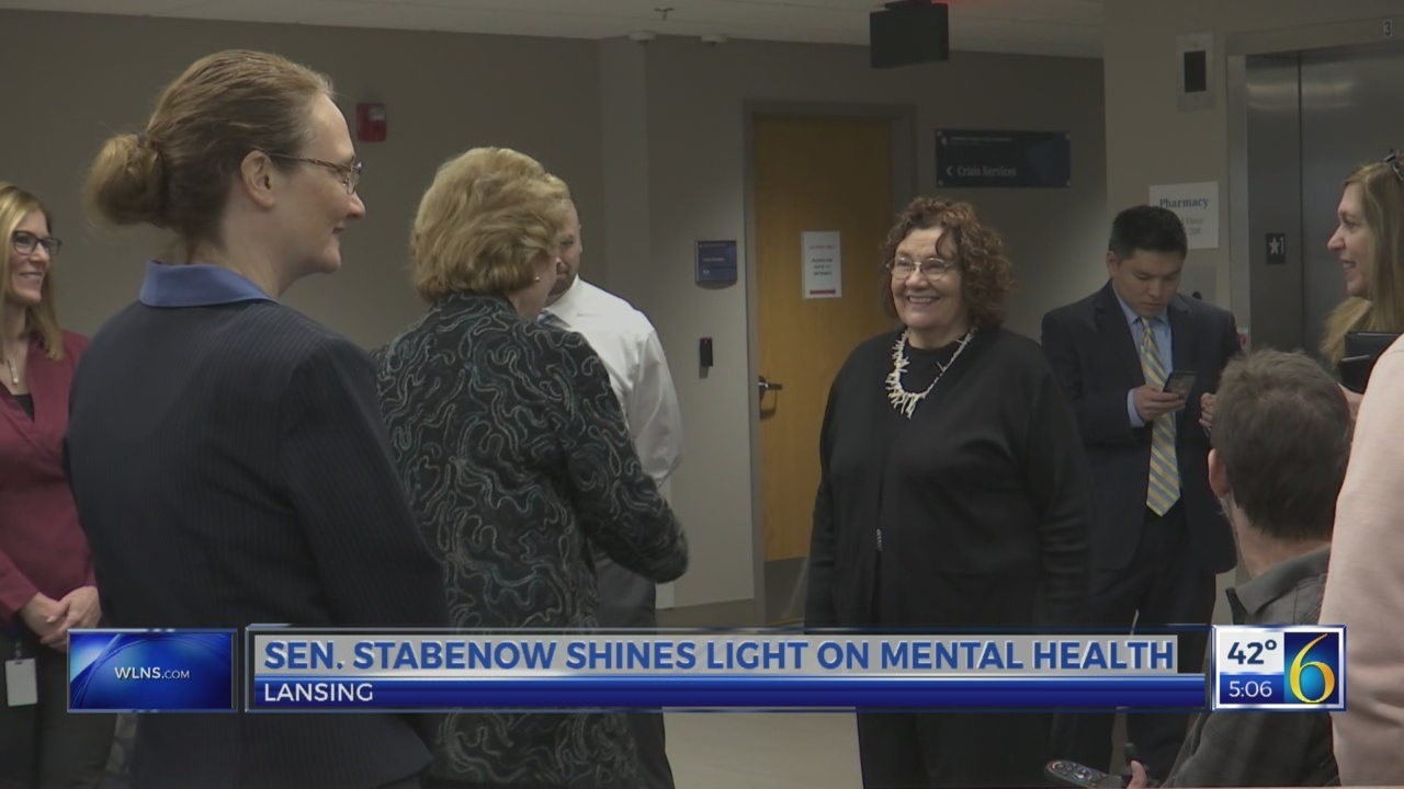 Stabenow on mental health