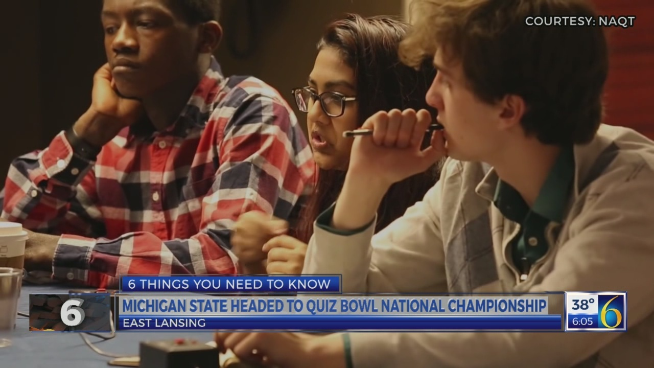 6 News This Morning: msu quiz bowl
