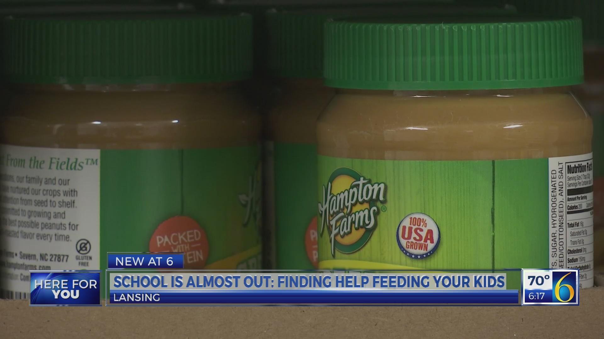 Finding help feeding kids