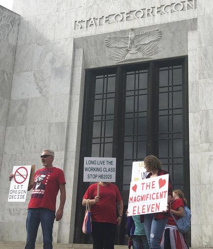 APNewsBreak: Oregon governor says GOP must return to state
