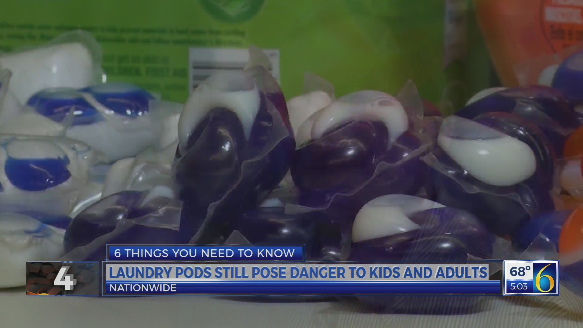 This Morning: Laundry Detergent Pods