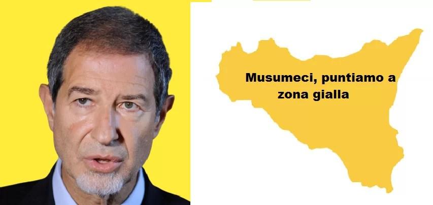 Covid - Sicilia: Musumeci, puntiamo a zona gialla - Digitale terrestre  free: canale 652