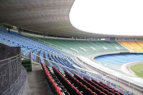 Maracana Stadion in Rio de Janeiro 2014
