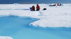 Research on ice: