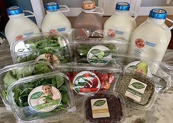 Hampton Roads-based home delivery service for local organic produce, meats, dairy, bread, prepared food and more. (Courtesy photo)
