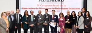 IV Congreso Anual  de la Asociación de Directivos de Relaciones Laborales (ADiReLab) para debatir sobre Compliance, transformación digital y registro de jornada. (II)