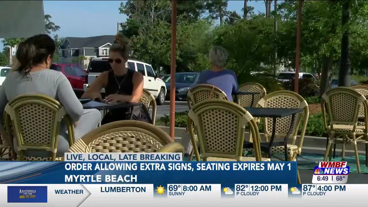 discontinue extra outdoor seating