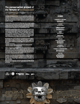 The Conservation Project At The Temple Of Quetzalcoatl