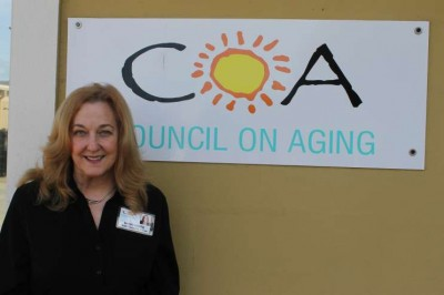 Sarah Gurtis is the CEO of the Council On Aging of Volusia County. Photo: Matthew Peddie, WMFE