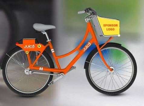 Image: Juice bike share