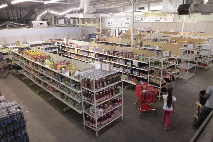 Cost Share Grocery store. Photo courtesy of Community Food and Outreach Center.