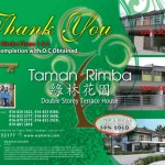 Taman Rimba Phase 1 & 2 Early Completion with OC Obtained