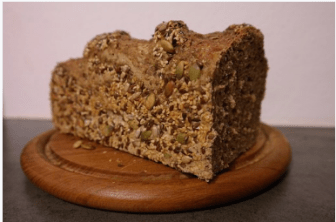 brown whole bread