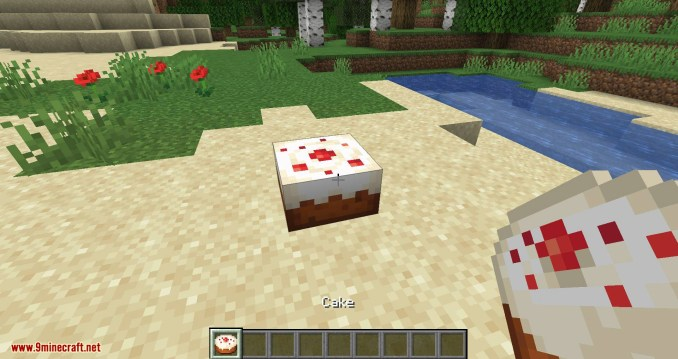 Cake Chomps mod for minecraft 01