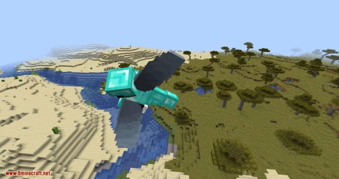 Curious Elytra mod for minecraft 07