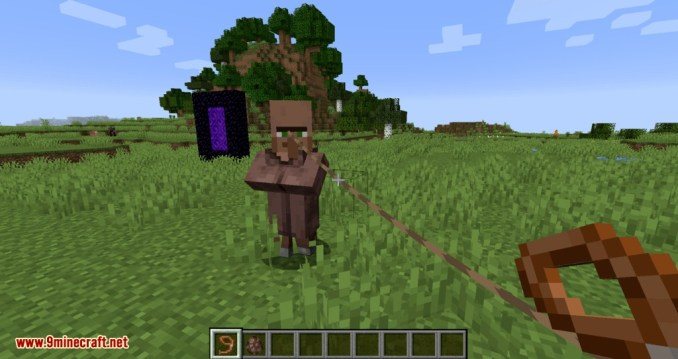 Lead Villagers mod for minecraft 04