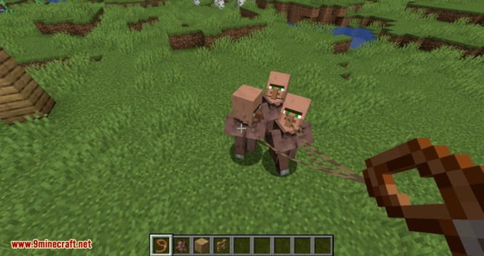 Lead Villagers mod for minecraft 10