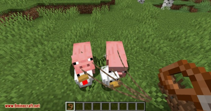 Lead Villagers mod for minecraft 01