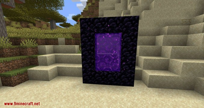 Nether Portal Spread mod for minecraft 04