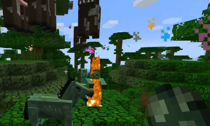 Nyan Cow mod for minecraft 02