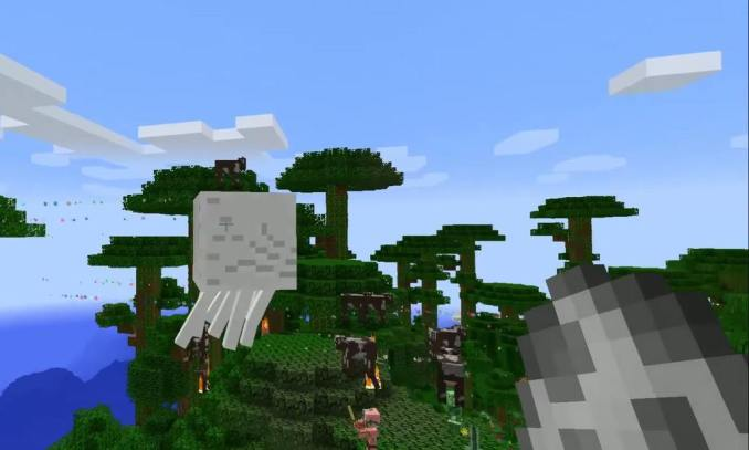 Nyan Cow mod for minecraft 03