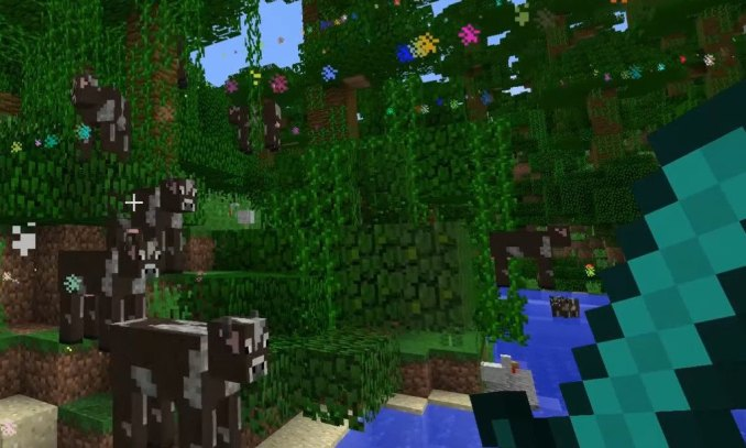 Nyan Cow mod for minecraft 10