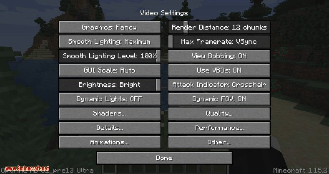 OptiForge mod for minecraft 02