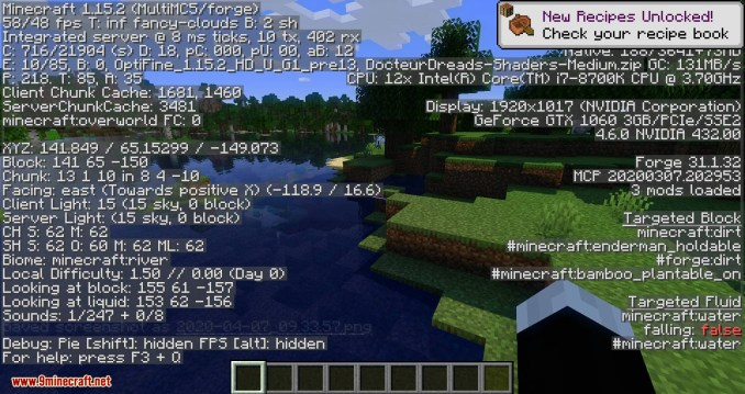 OptiForge mod for minecraft 10